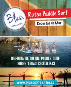 Rutas de PaddleSurf desde Roquetas
