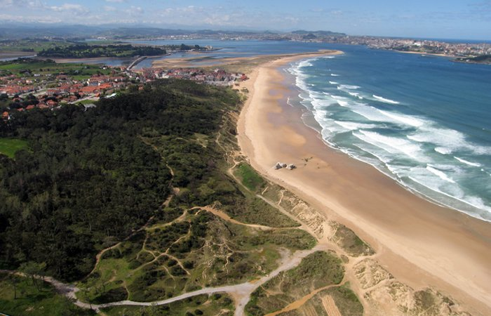 Playa de Somo en Cantabria